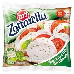 Ser Mozzarella bazylia 125 g