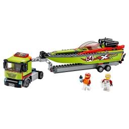 City Great Vehicles Transporter łodzi wyścigowej 60254