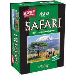 Herbata czarna safari 200g ( 100 torebek )