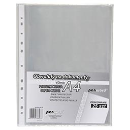 Penword obwoluta na dokumenty krystaliczna A4 40 mic...