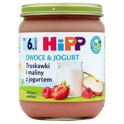BIO Owoce & Jogurt Truskawki i maliny z jogurtem po ...