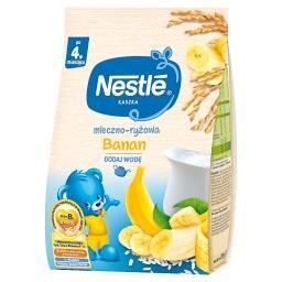 Kaszka mleczno-ryżowa banan dla niemowląt po 4. mies...