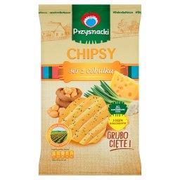 Chipsy ser z cebulką