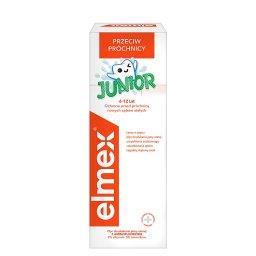 Elmex Junior Płyn do płukania jamy ustnej z aminoflu...