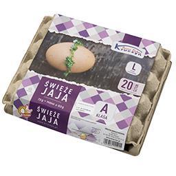 Jaja świeże L 20 sztuk