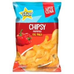 Chipsy papryka
