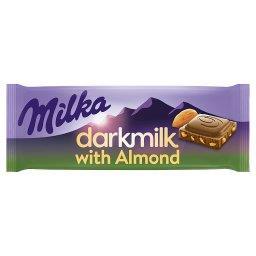 Darkmilk Czekolada mleczna Almond
