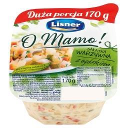 O Mamo! Sałatka warzywna z ogórkiem