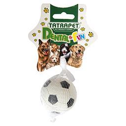 Zabawka dla psa piłka sportowa mikroguma 6 cm