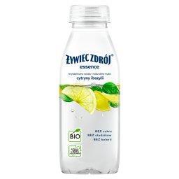 Essence Napój niegazowany BIO o smaku cytryny i bazy...