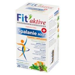 Fit aktive Suplement diety herbatka ziołowa spalanie...
