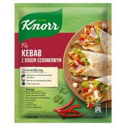 Fix kebab z sosem czosnkowym