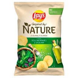 Inspired by Nature Chipsy ziemniaczane o smaku soli ...