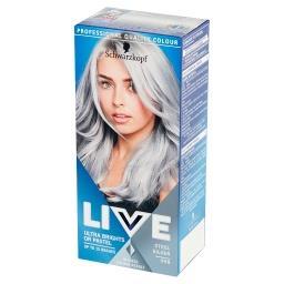 Live Ultra Brights or Pastel Farba do włosów Steel S...