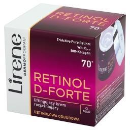Retinol D-Forte 70+ Liftingujący krem rozjaśniający ...