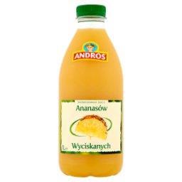 Sok z ananasów wyciskanych