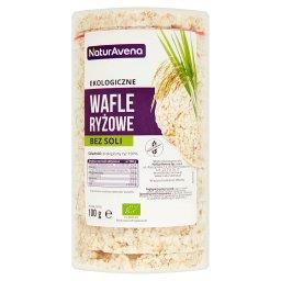 Ekologiczne wafle ryżowe bez soli
