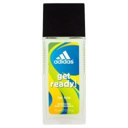 Get ready! Odświeżający dezodorant z atomizerem dla ...