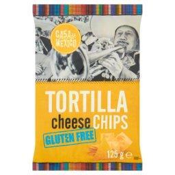 Tortilla cheese chips Bezglutenowe chipsy kukurydziane