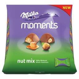 Moments Mieszanka czekoladek mlecznych Nut Mix  (19 sztuk)