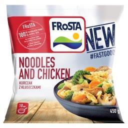 Noodles and Chicken Kurczak z kluseczkami