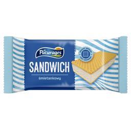 Lody sandwich śmietankowy