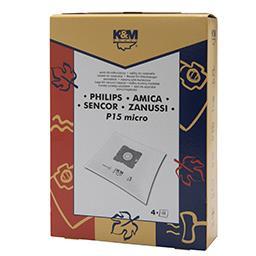 Worki do odkurzaczy P15 MICRO Philips FC 8334 4 sztu...