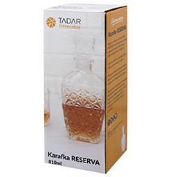 Karafka szklana Red 850 ml