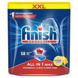 All in 1 Max Lemon Tabletki do mycia naczyń w zmywarce  (58 sztuk)