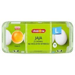 Jaja z chowu na wolnym wybiegu L 10 sztuk