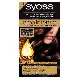 Oleo Intense Farba do włosów Czekoladowy brąz 4-86