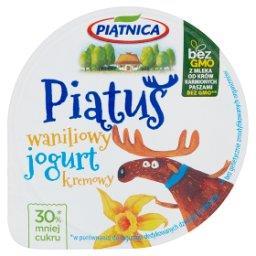 Piątuś Jogurt kremowy waniliowy