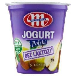 Jogurt Polski bez laktozy gruszka 150 g