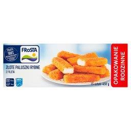 Złote paluszki rybne z fileta  (15 sztuk)