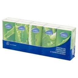 Chusteczki higieniczne 4-warstwowe z balsamem o zapa...
