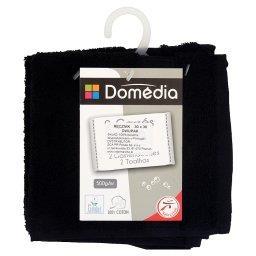 Ręcznik 30 x 30 cm czarny dwupak