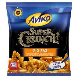 Super Crunch Zig Zag Bardzo chrupiące i karbowane fr...