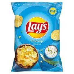 Chipsy ziemniaczane o smaku śmietankowego serka z zi...