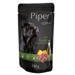 Mokra karma dla psa Piper Animals z dziczyzną i dynią 150 g