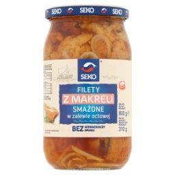 Filety z makreli smażone w zalewie octowej
