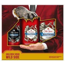 Wolfthorn Dezodorant w sprayu 125  ml + Żel pod prysznic 250  ml + Woda po goleniu 100  ml