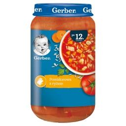 Pomidorowa z ryżem dla dzieci po 12. miesiącu