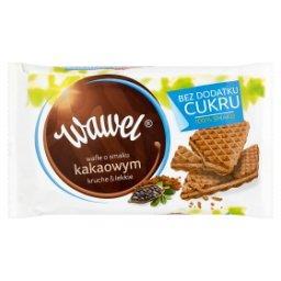 Bez dodatku cukru Wafle o smaku kakaowym