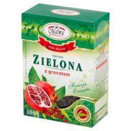 Herbata zielona z granatem