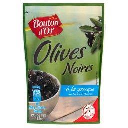 Oliwki czarne po grecku z ziołami prowansalskimi