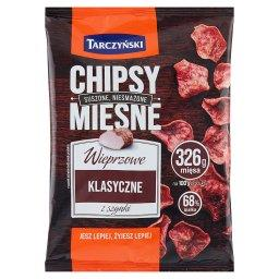 Chipsy mięsne wieprzowe klasyczne z szynki
