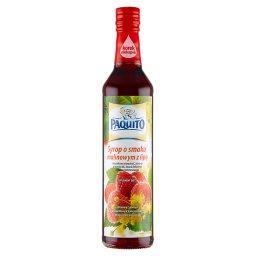 Suplement diety syrop o smaku malinowym z lipą