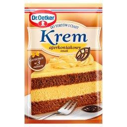 Krem do tortów i ciast smak ajerkoniakowy