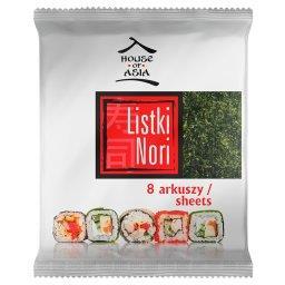 Sushi Nori Premium Liście alg morskich 8 sztuk