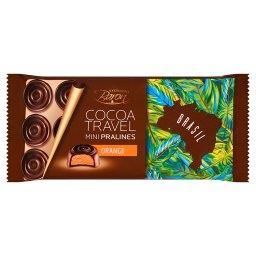 Cocoa Travel Brasil Czekolada z nadzieniem o smaku pomarańczowym